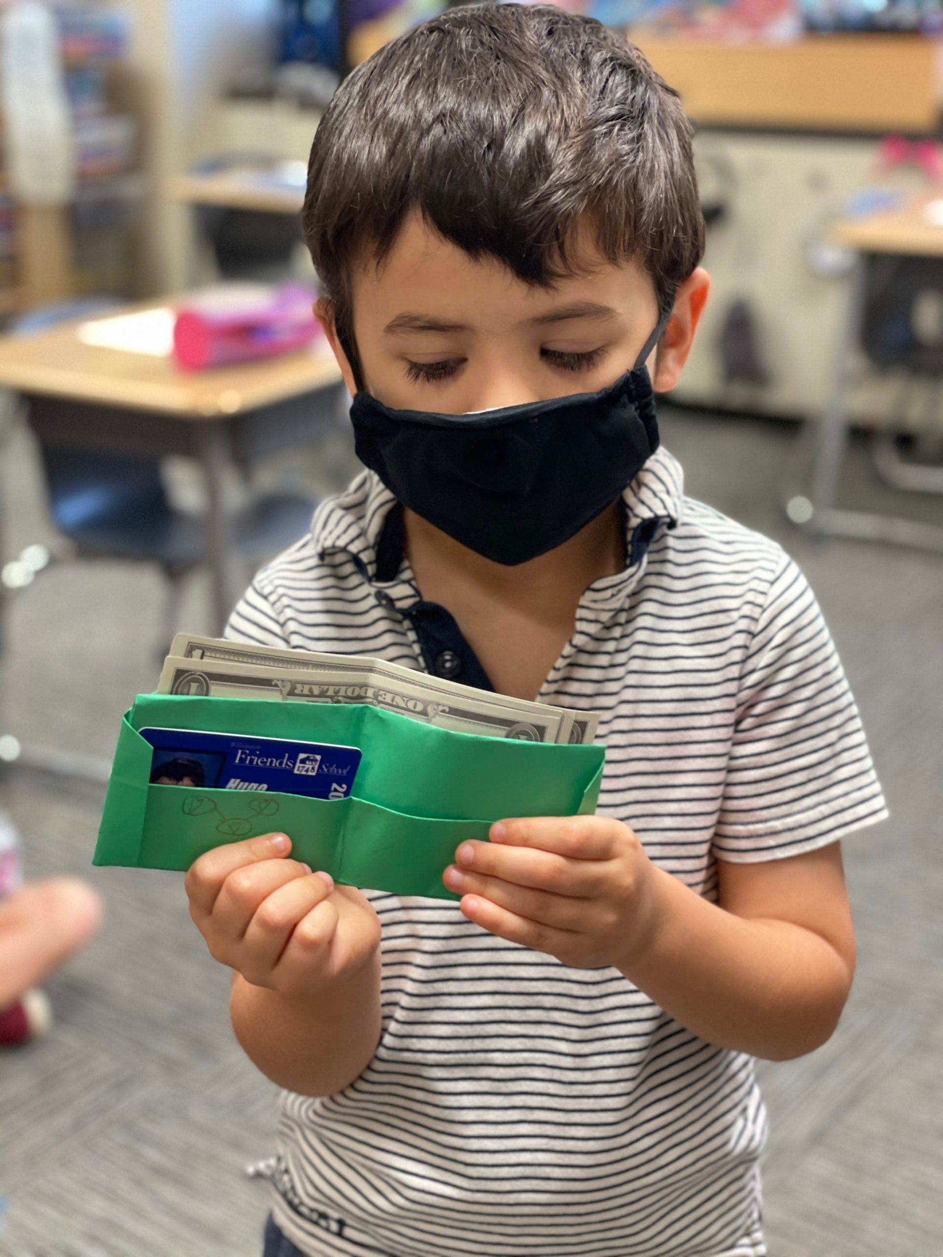 """Featured image for """"Friends' first graders create classroom jobs they apply for, get paid for"""""""
