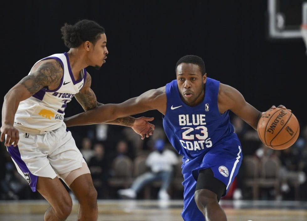 Jared Brownridge returns to the Blue Coats for its season in the Orlando Bubble.