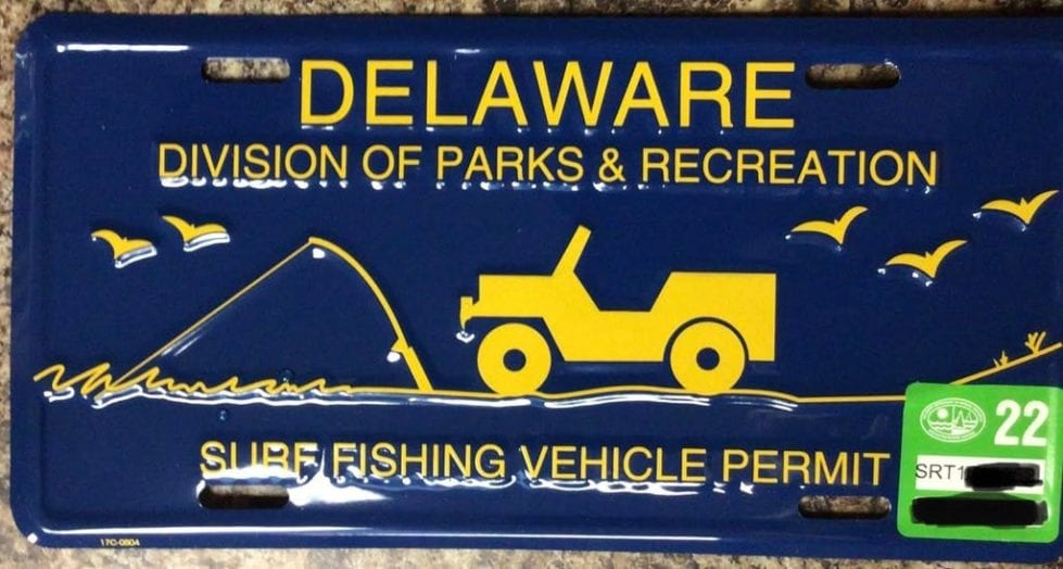 Delaware's surf-fishing permit was a hot ticket during our cold winter.