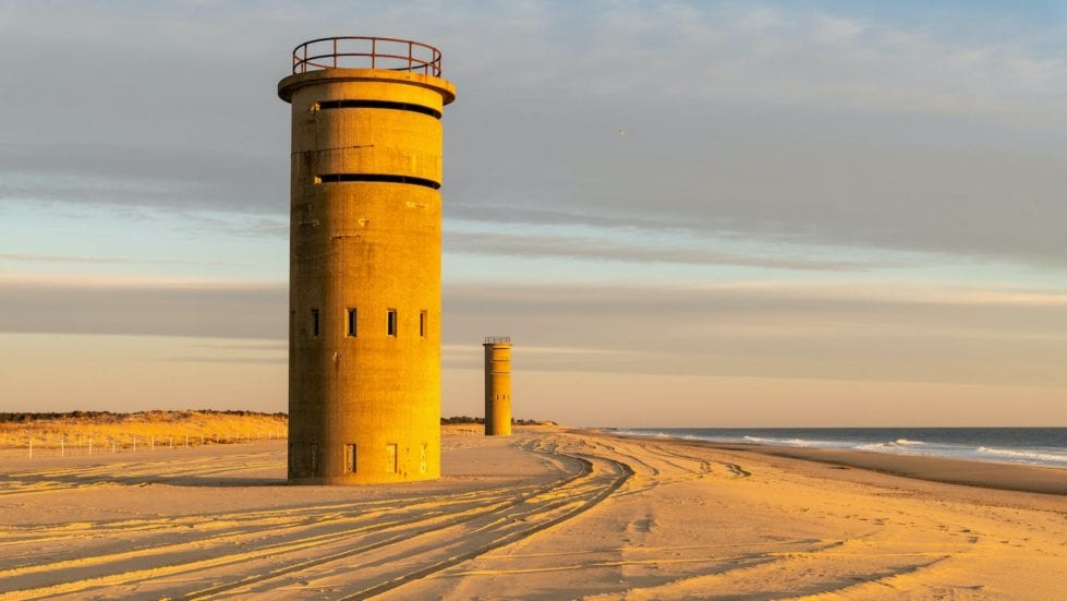 The iconic fire towers along the Sussex coast. (Delaware Division of Parks and Recreation)
