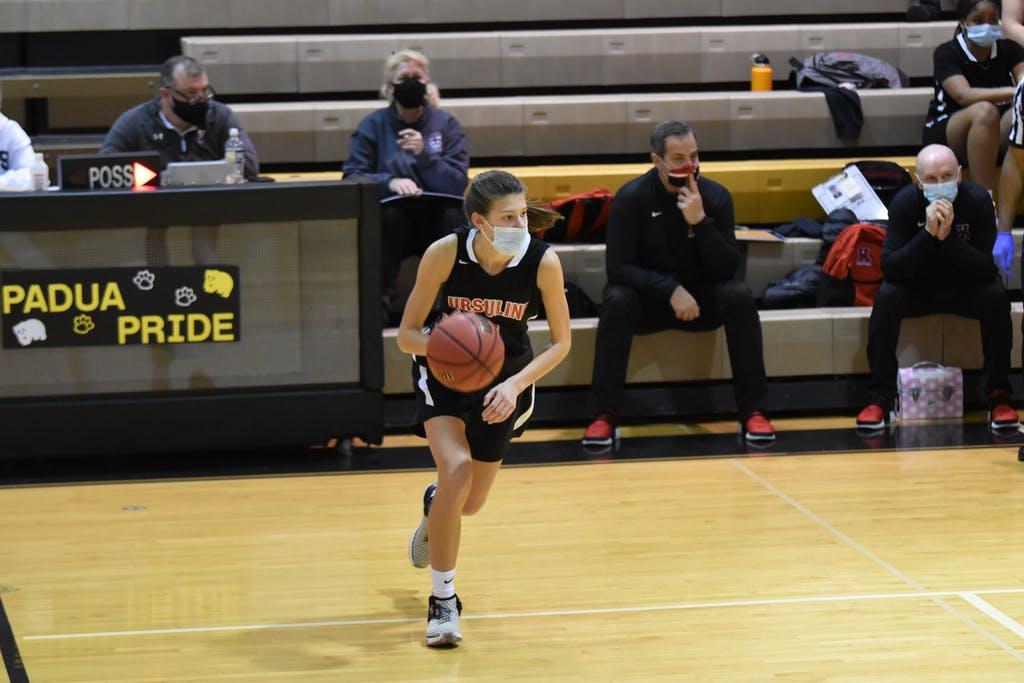 Emily Rzucidlo once again led the Ursuline Raiders scoring Thursday.