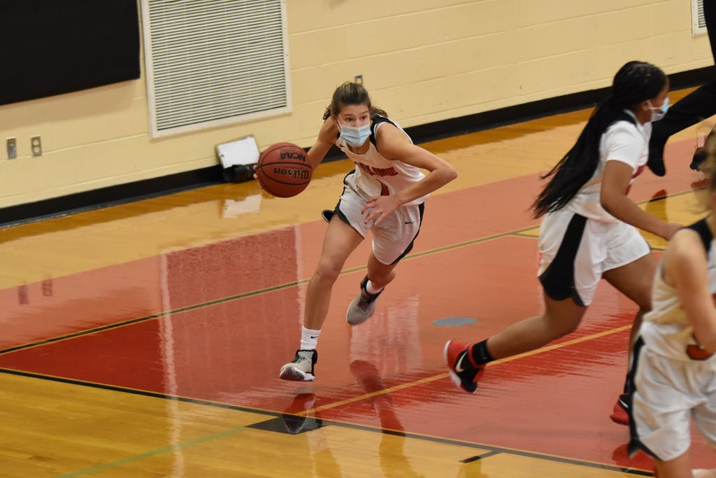 Emily Rzucidlo's game-high 22 points proved too much for Woodbridge.