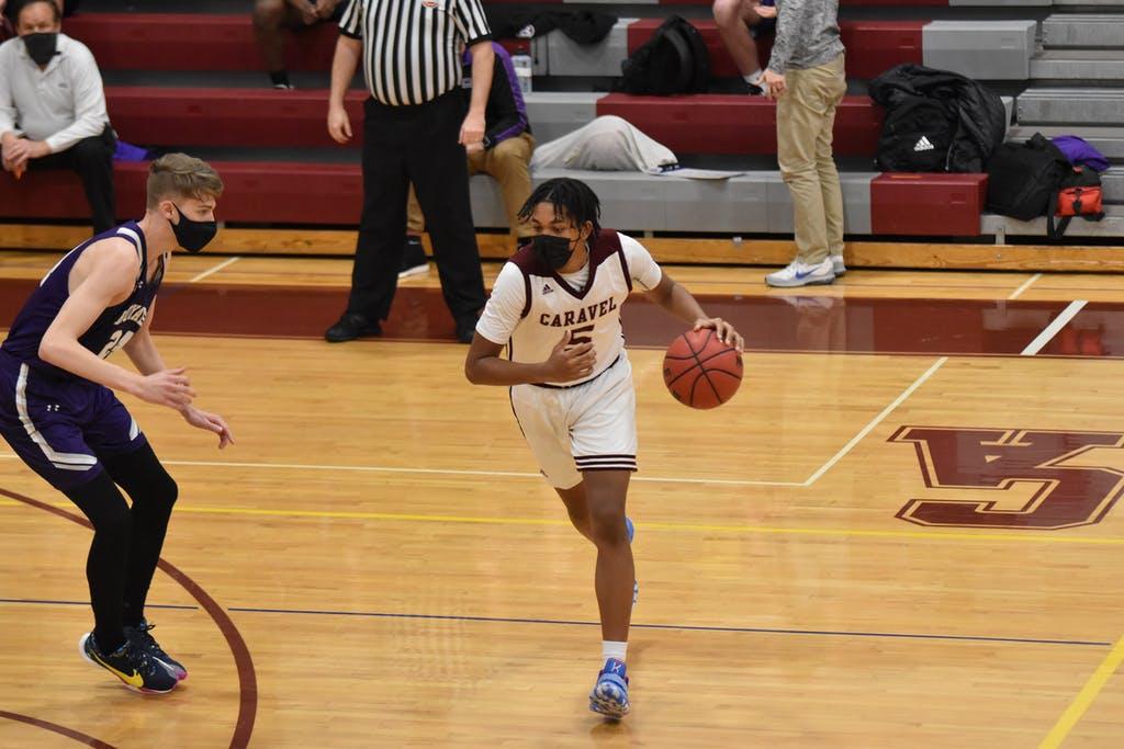 Jaden Rogers Caravel Basketball