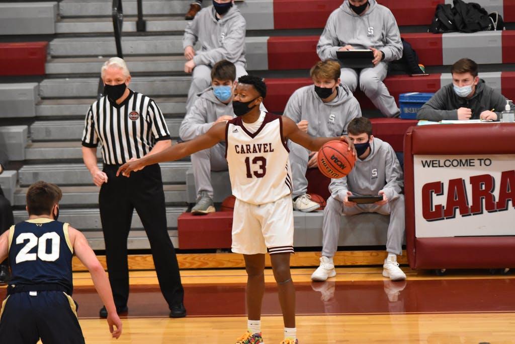 Miles White Salesianum Basketball