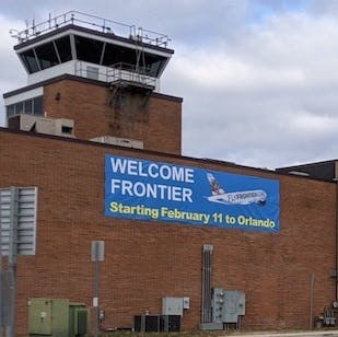 Wilmington-New Castle Airport. Delaware River & Bay Authority photo)
