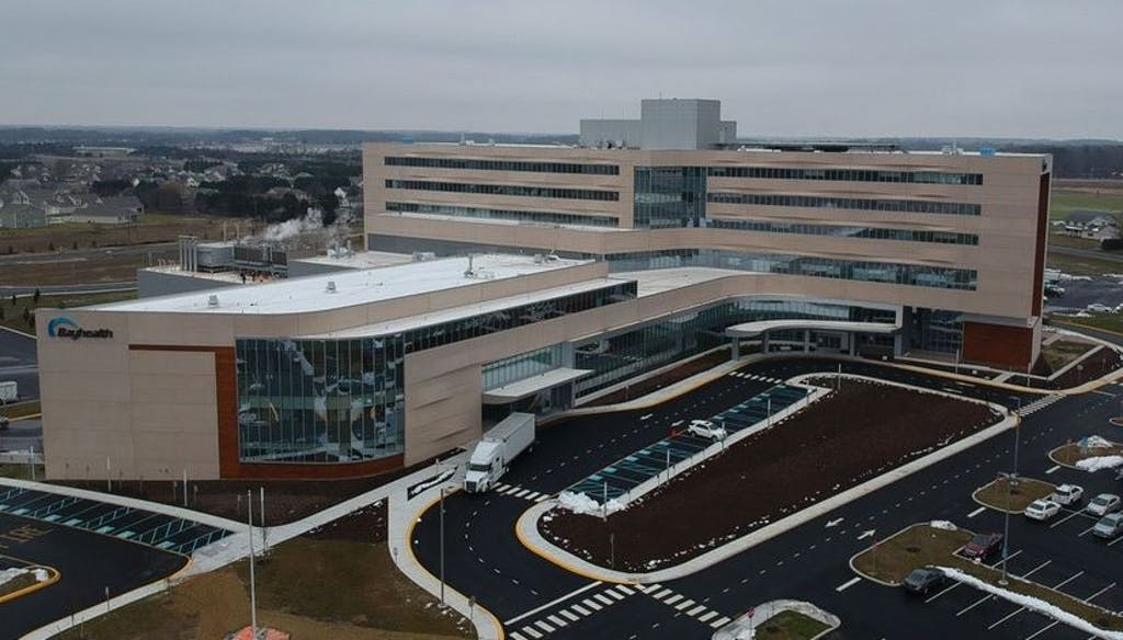 Sussex County hospitals such as Bayhealth in Milford are at their 'high water' marks for COVID patients.