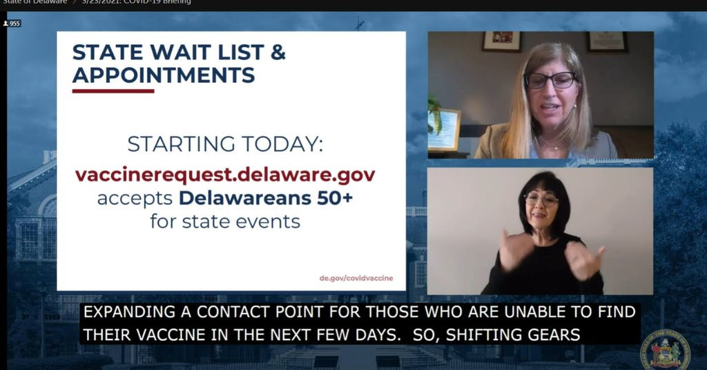 Dr. Karyl Rattay talks about opening vaccine registration For those over the age of 50