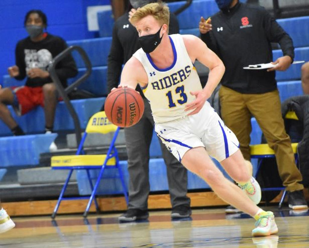 Caesar Rodney scoring was led by The Riders were led by Ryan Carey with 11 points.