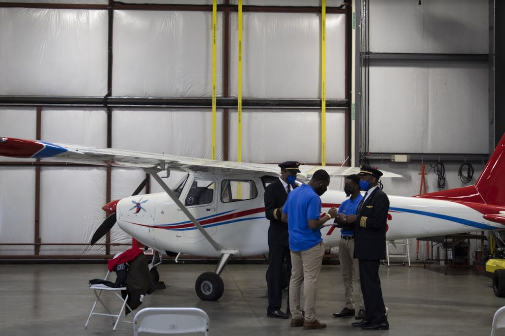 """Featured image for """"DSU, United Airlines partnership aims to add diversity to pilot ranks"""""""