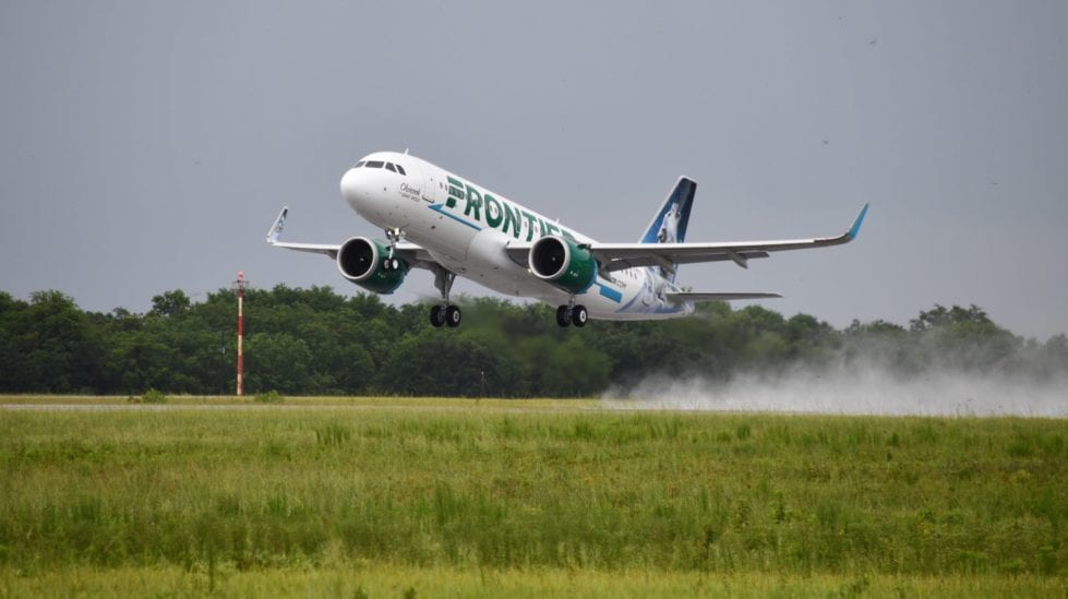 Frontier Airlines photo