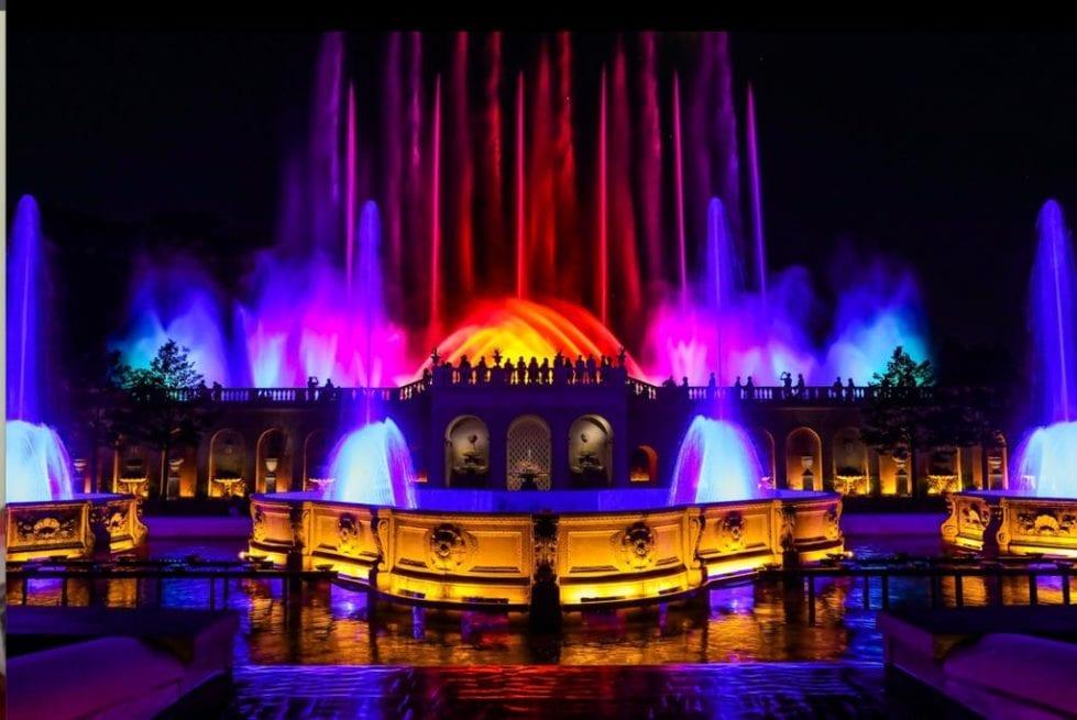Longwood Gardens' illuminated fountains (Longwood Gardens)