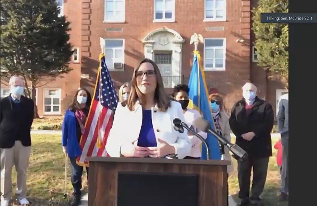 New Sen. Sarah McBride