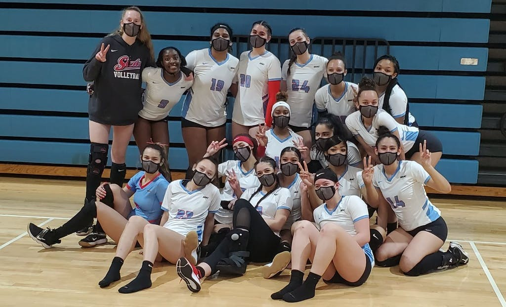 """Featured image for """"DSU volleyball to play in conference tournament for 1st time in a decade"""""""