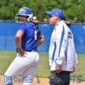 a baseball player pitching a ball on a field