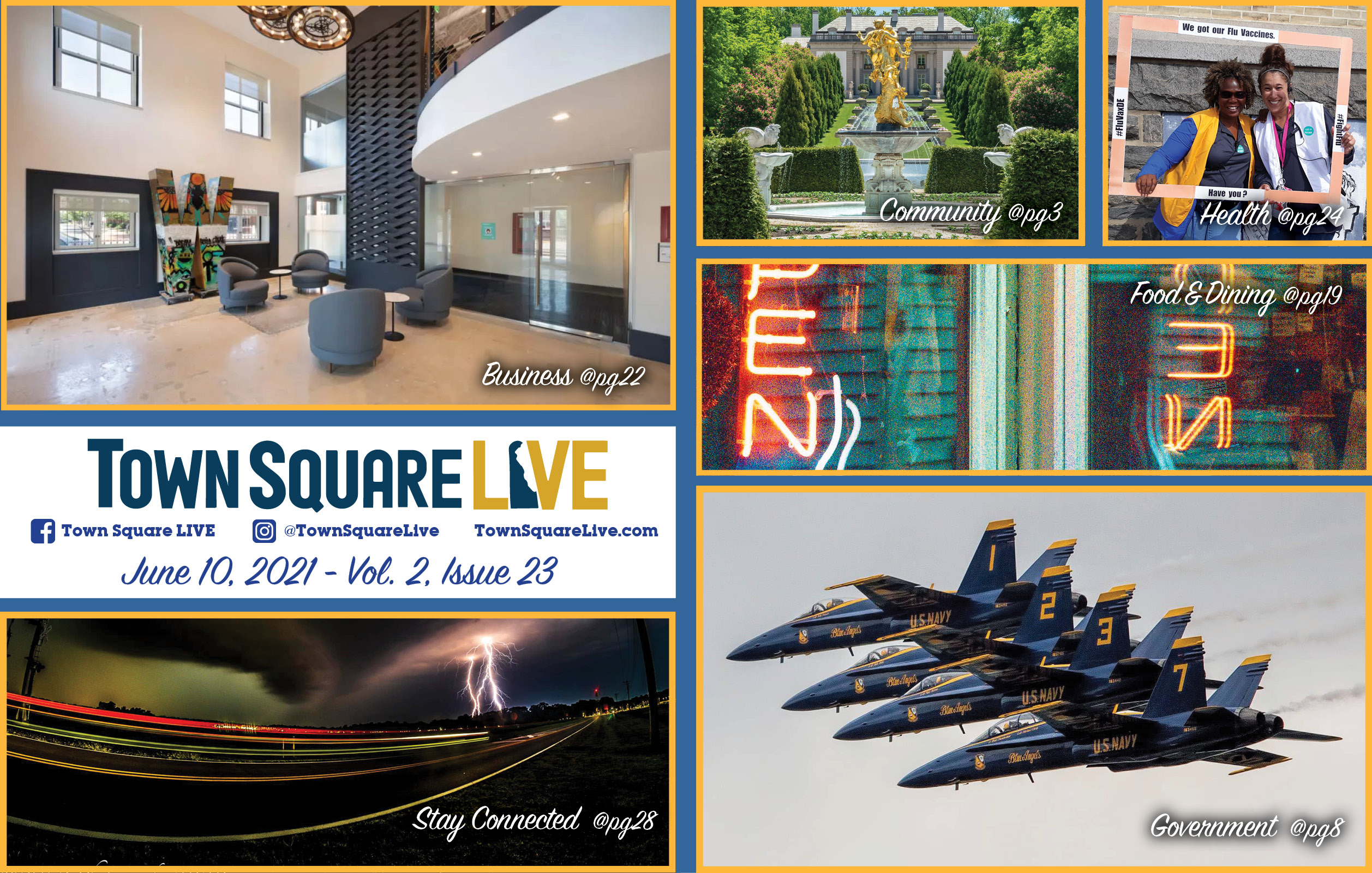 """Featured image for """"Town Square LIVE Weekly Review – June 10, 2021"""""""