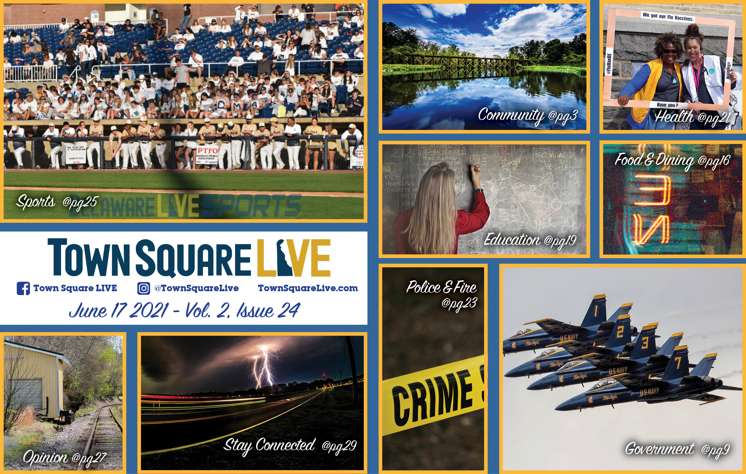 """Featured image for """"Town Square LIVE Weekly Review – June 17, 2021"""""""