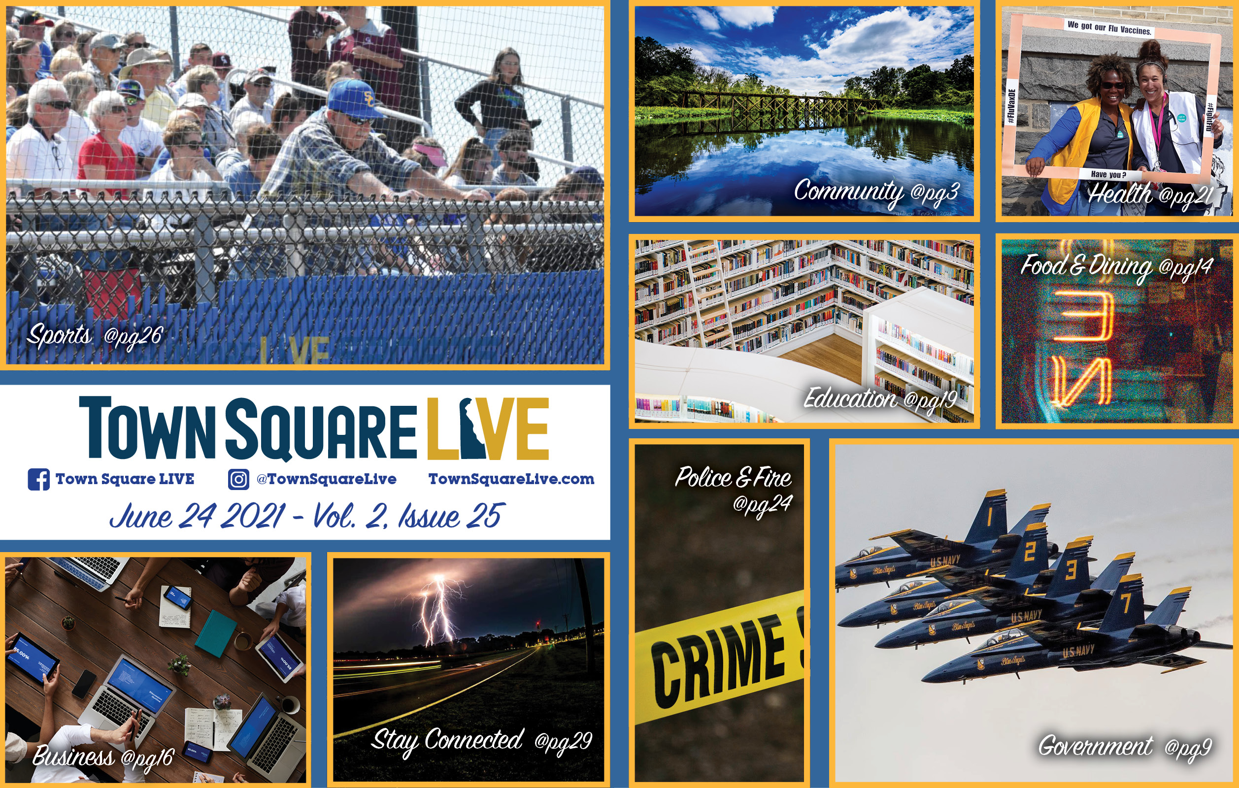 """Featured image for """"Town Square LIVE Weekly Review – June 24, 2021"""""""