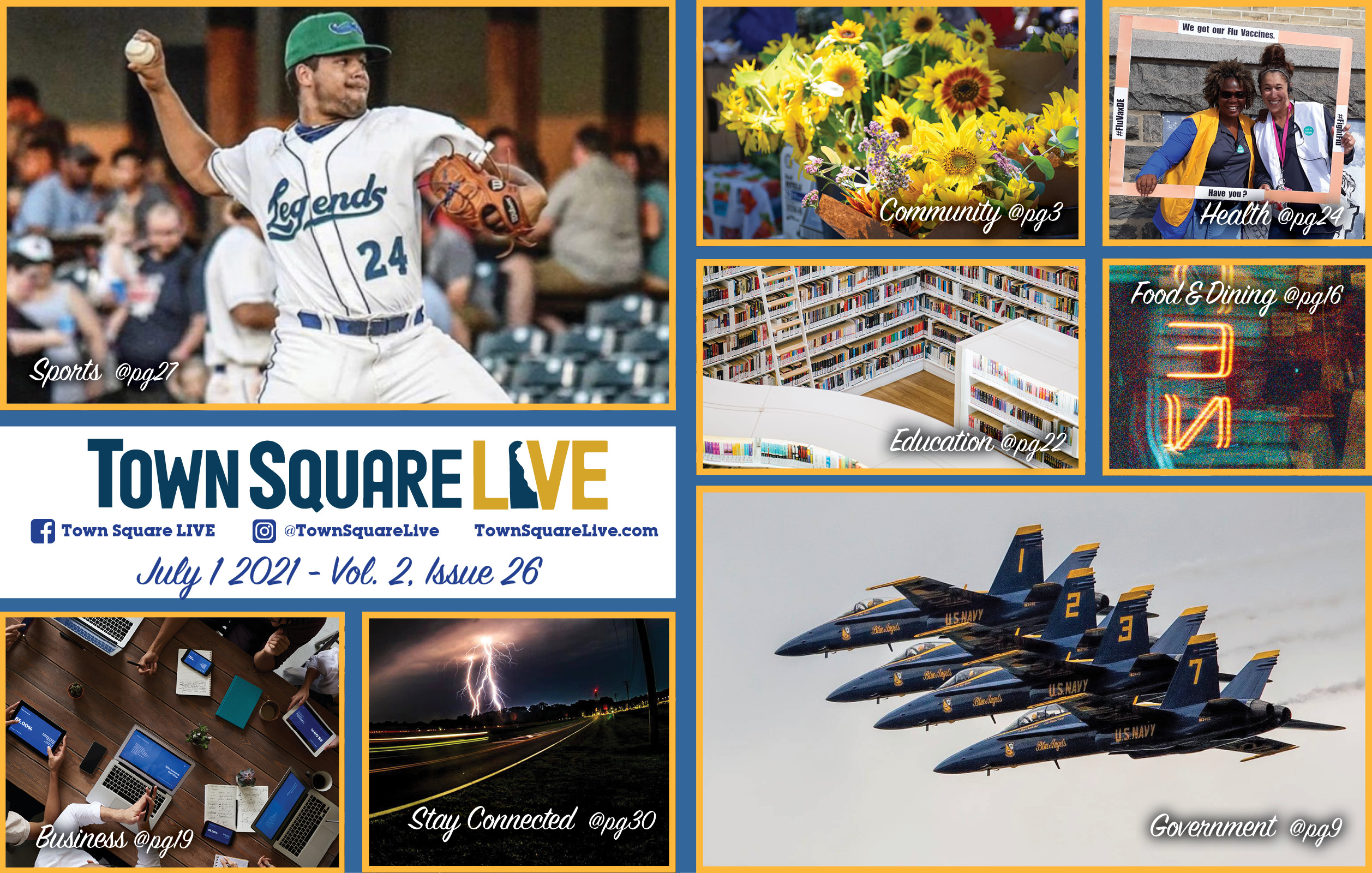 """Featured image for """"Town Square LIVE Weekly Review – July 1, 2021"""""""