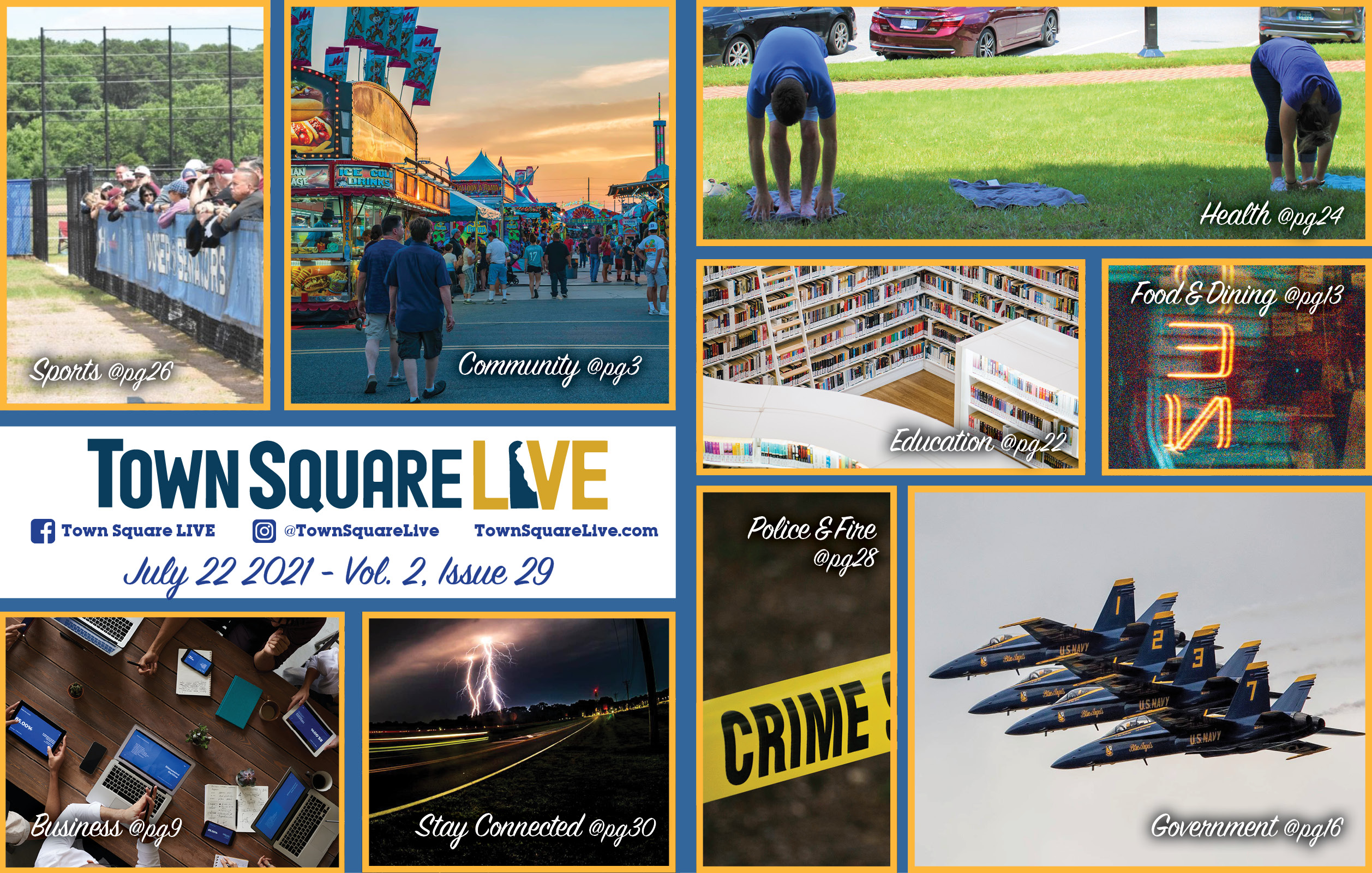 """Featured image for """"Town Square LIVE Weekly Review – July 22, 2021"""""""