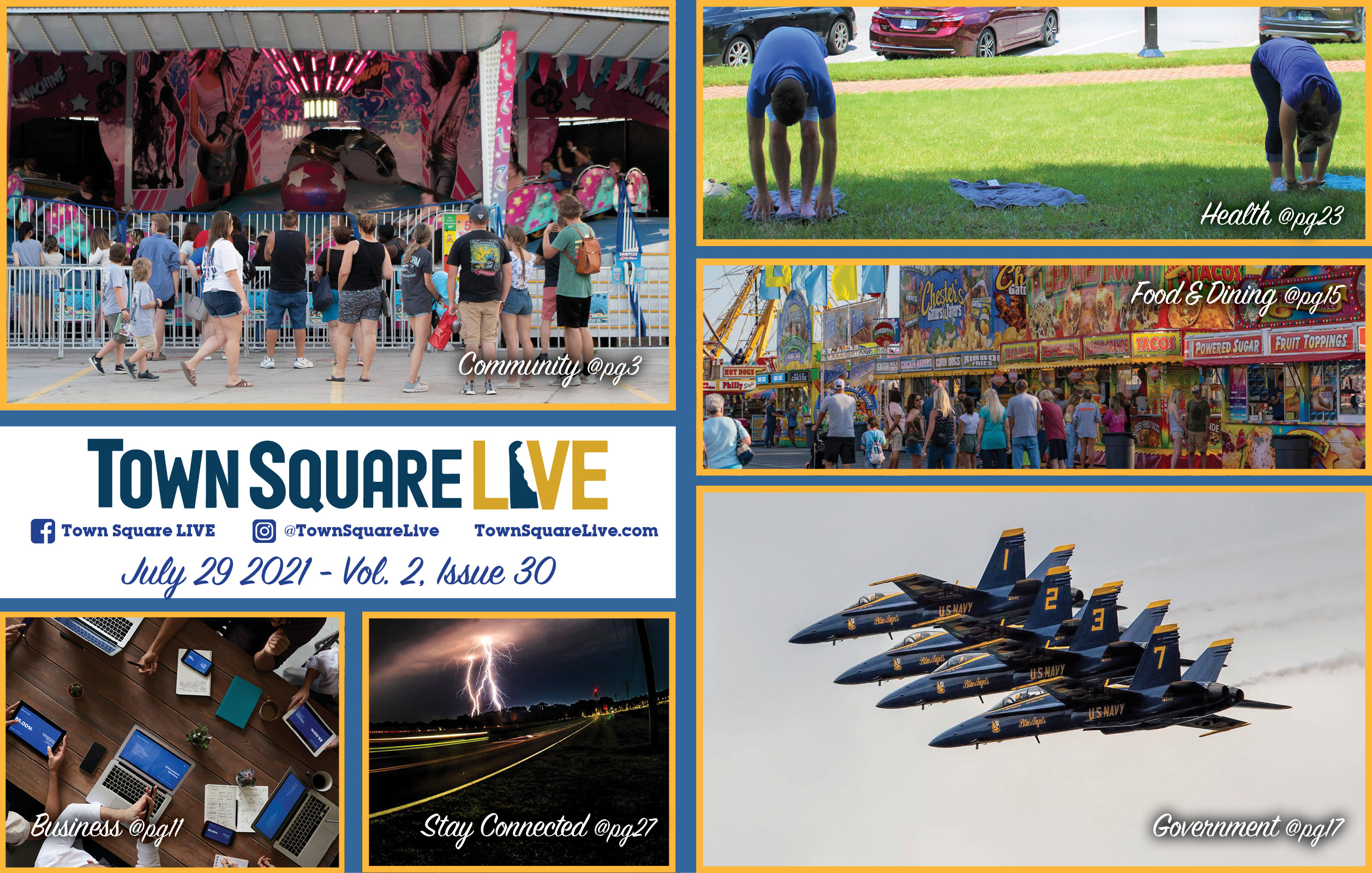 """Featured image for """"Town Square LIVE Weekly Review – July 29, 2021"""""""