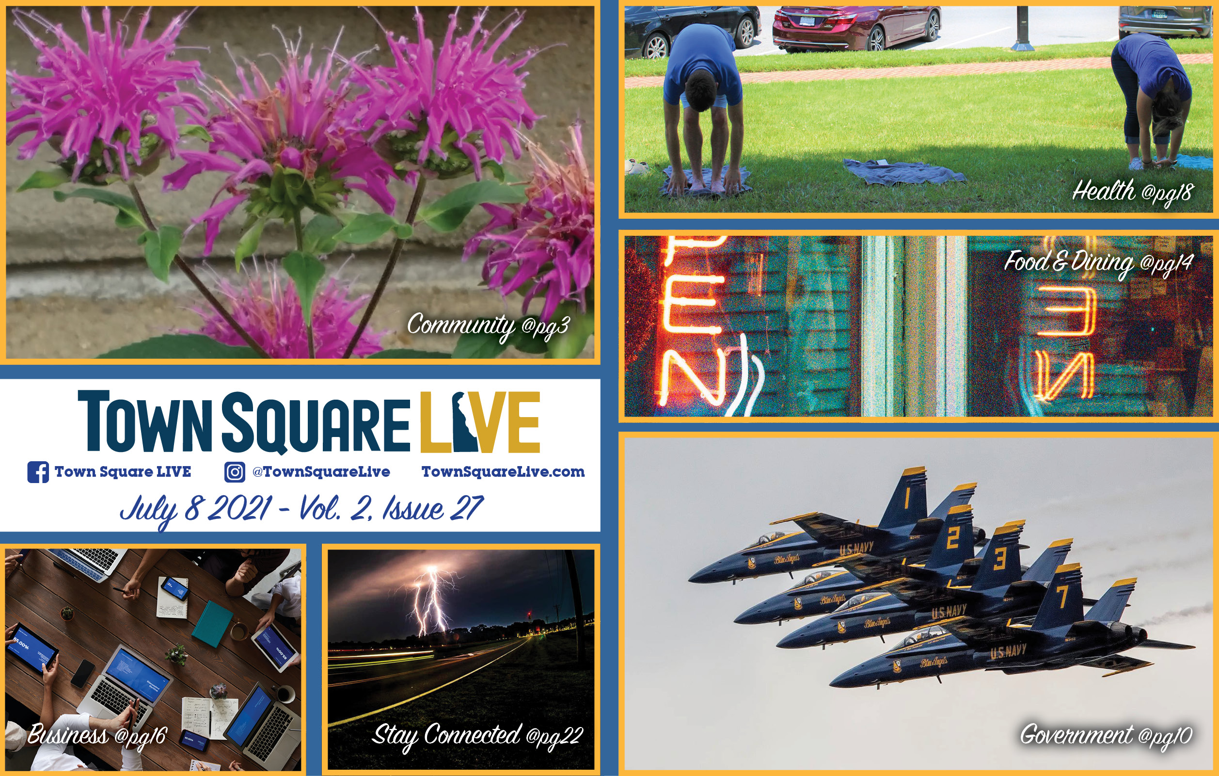 """Featured image for """"Town Square LIVE Weekly Review – July 8, 2021"""""""