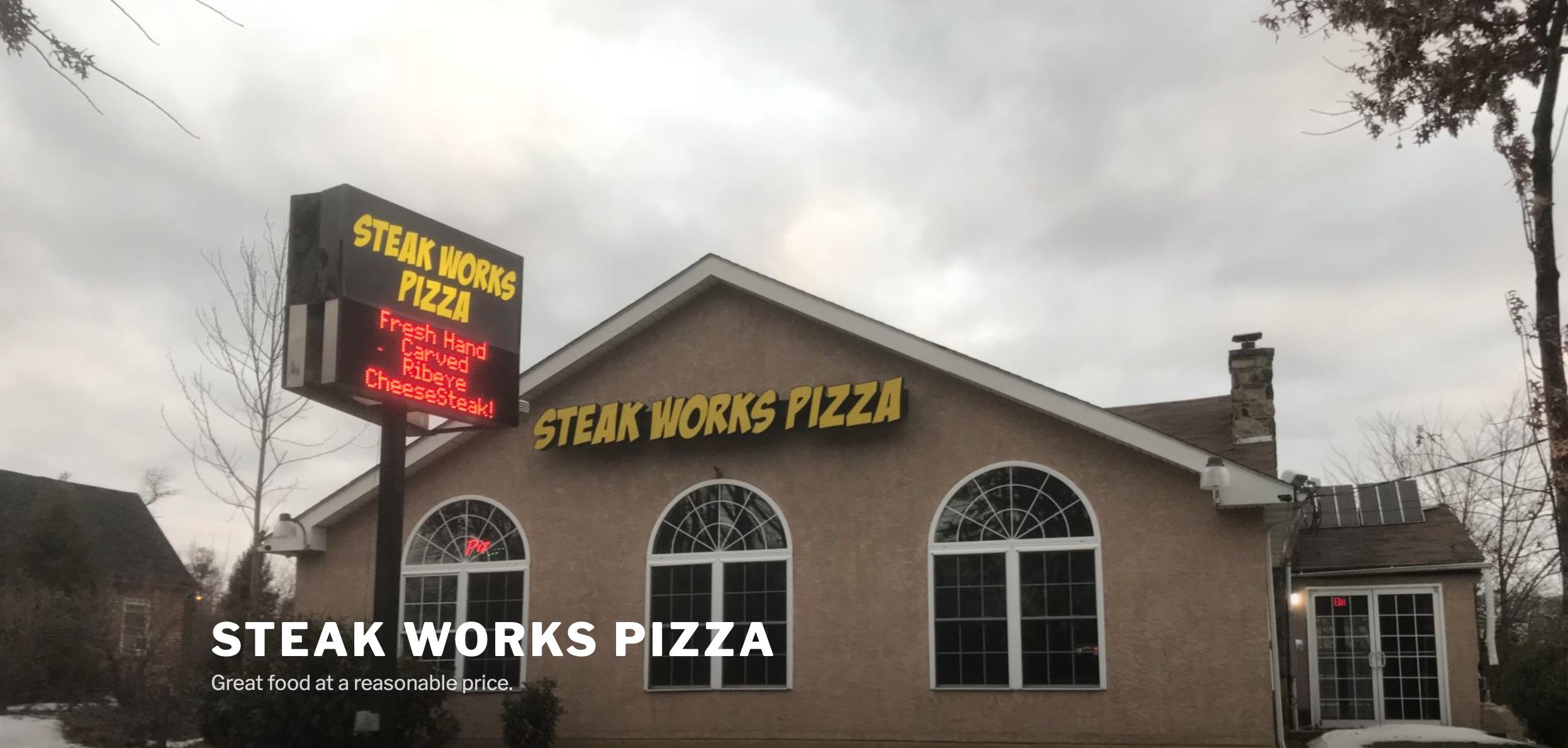Steak Works Pizza (www.steakworkspizza.com)