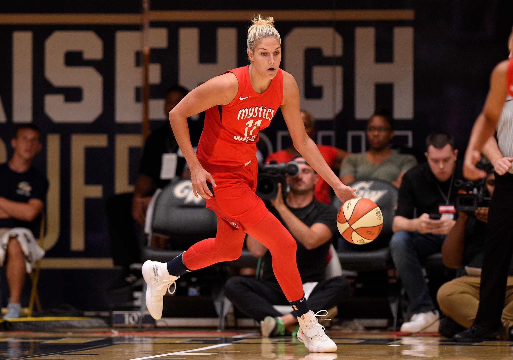 """Featured image for """"Delaware's Elena Delle Donne returns to Mystics for first time since 2019"""""""