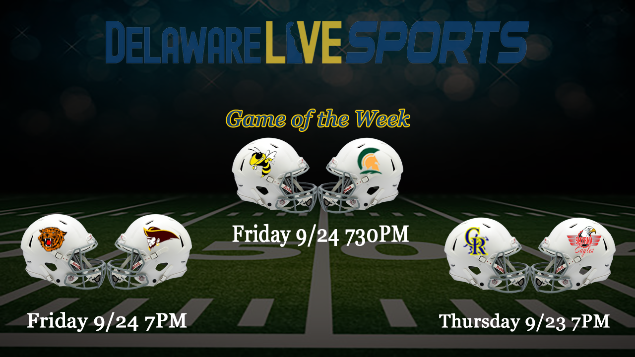 """Featured image for """"Delaware Live streaming schedule week 3"""""""