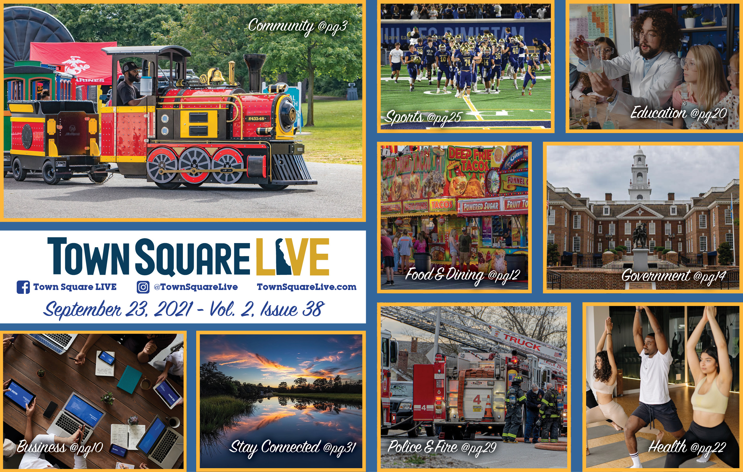"""Featured image for """"Town Square LIVE Weekly Review – September 23, 2021"""""""