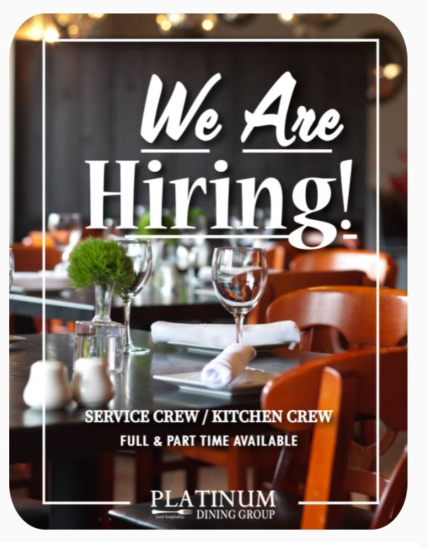 """Featured image for """"Restaurants cut hours as struggle with hiring continues"""""""