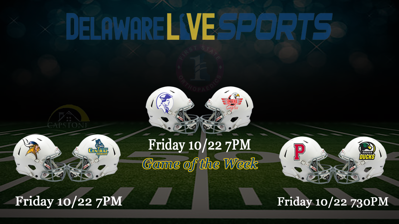 """Featured image for """"Week 7 Delaware live streaming schedule"""""""