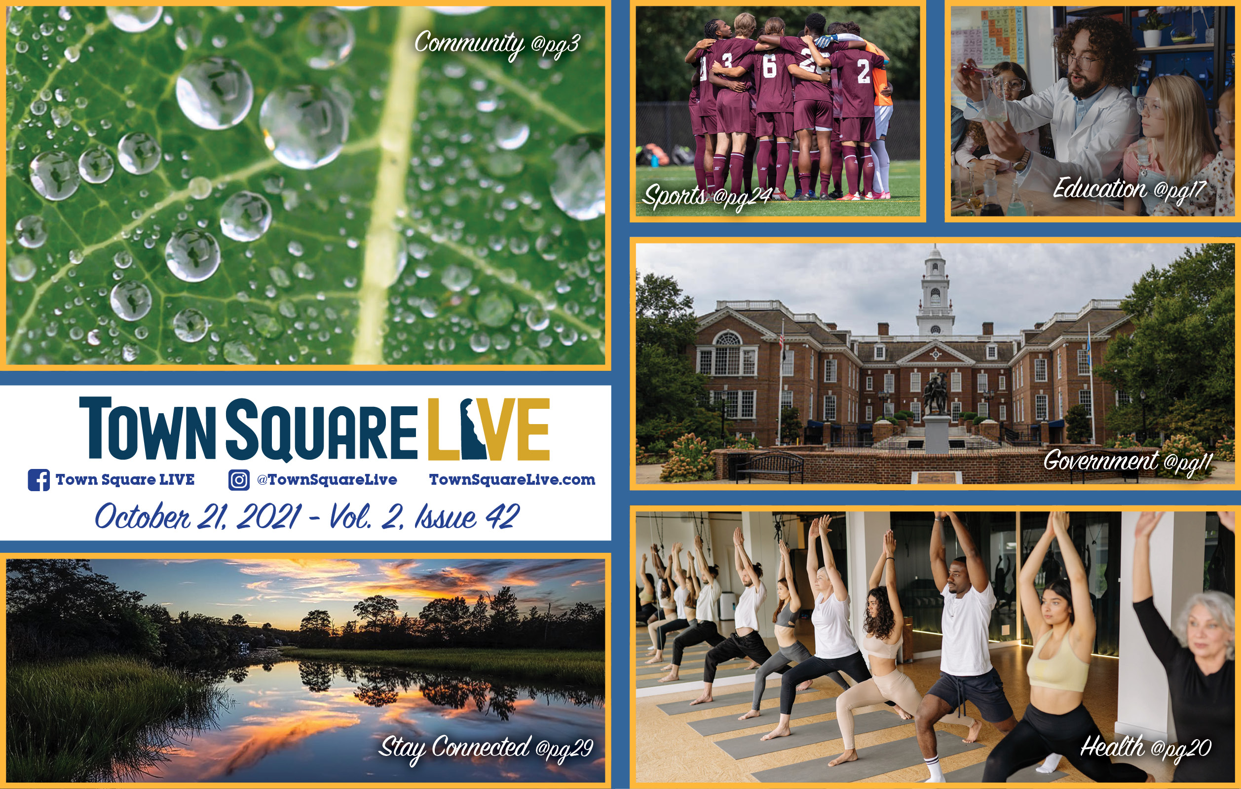 """Featured image for """"Town Square LIVE Weekly Review – October 21, 2021"""""""