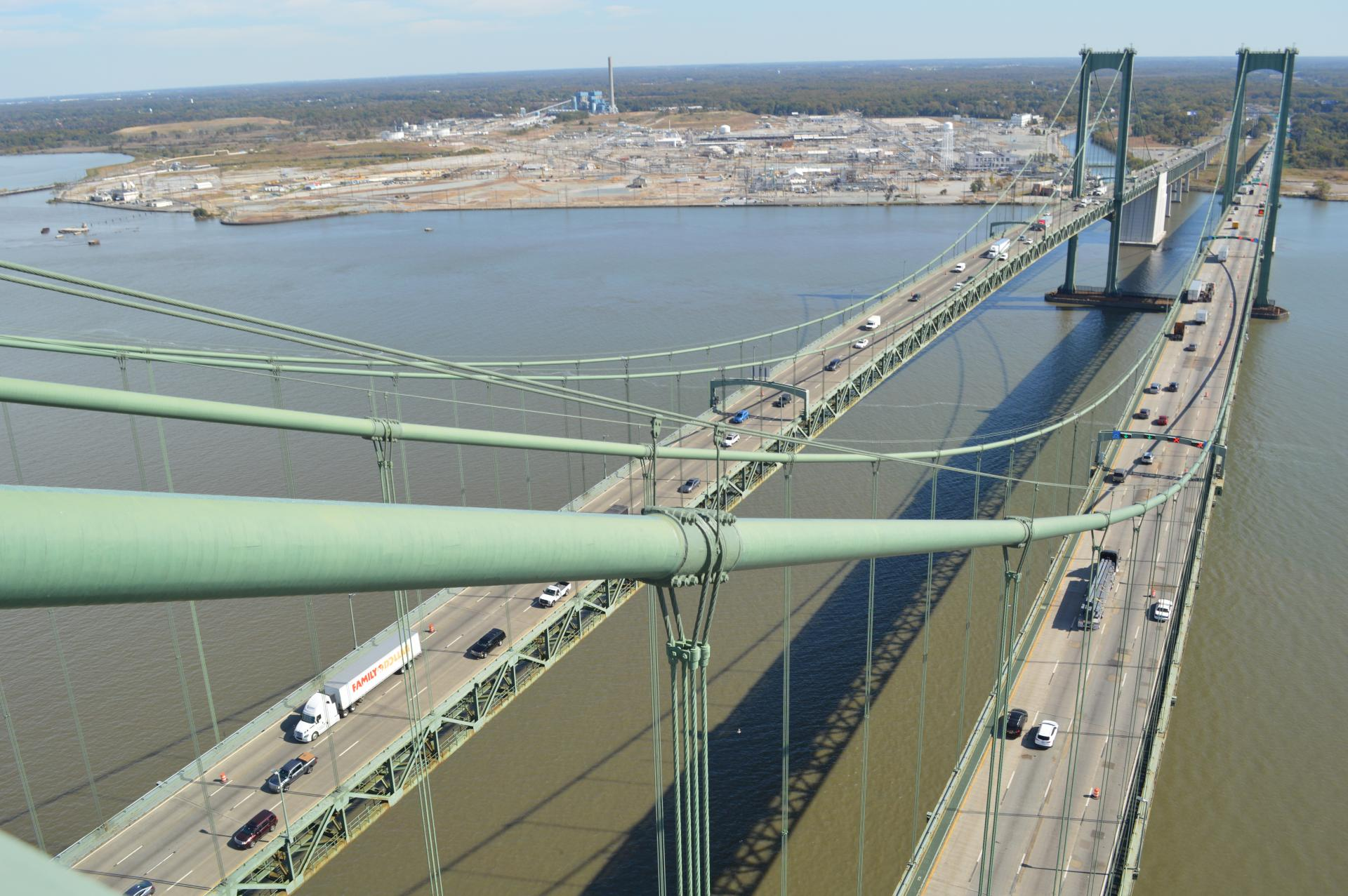 """Featured image for """"Delaware Memorial Bridge sets a record for September traffic"""""""